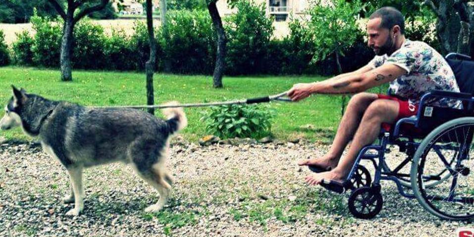 Ivan-Cottini-cane-Sharon-storia