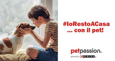 concorso petpassion iorestoacasa con il pet
